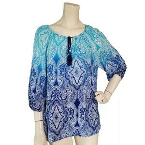 Ruby Rd. Petite Women's Casual Pullover Top Size M